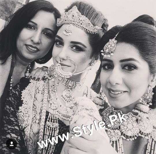 Elegant Photoshoot of Maya Ali for Samreen Vance House of Jewels (5)
