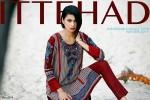 Ittehad Textiles Khaddar Collection 2015 For Women008