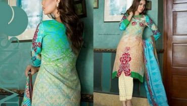 Monsoon Cambric Collection 2015 by Al-Zohaib Textile 6