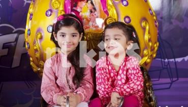 Nishat Linen Kids Winter Dresses 2015 For Girls 2