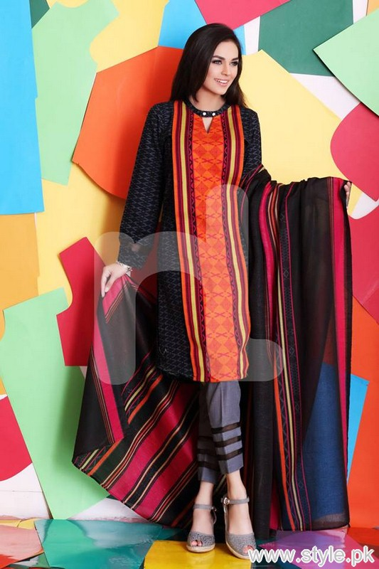 Nishat Linen Winter Collection 2015 For Women 8