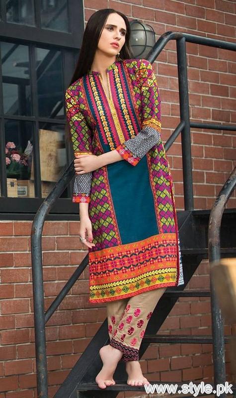 Orient Textile Winter Dresses 2015 For Women 10