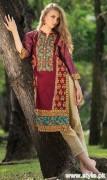 Orient Textile Winter Dresses 2015 For Women 11