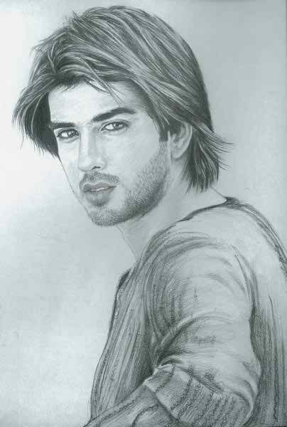 Pakistani Celebrities And Their Handmade Sketches002