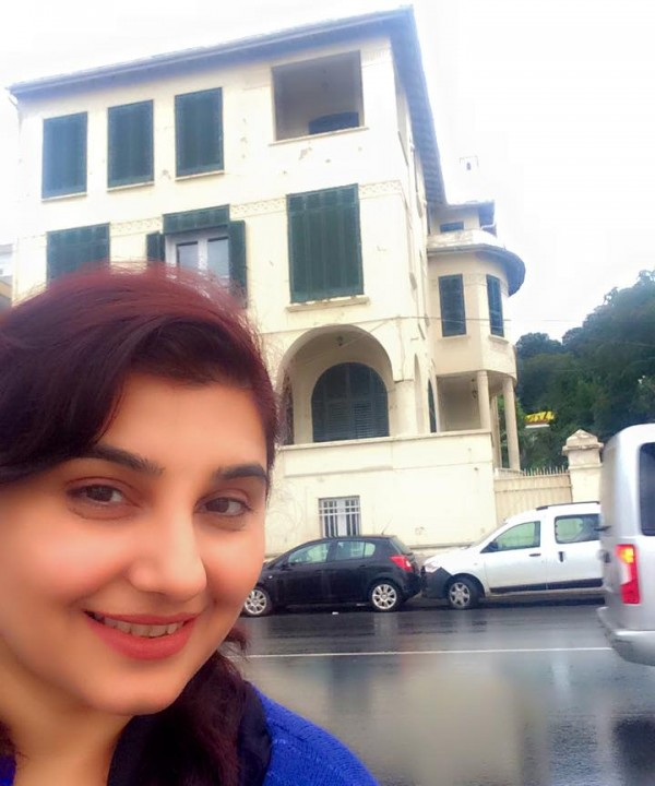 Pictures of Javeria Saud on Istanbul Tour (11)