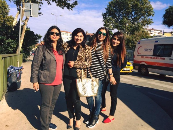 Pictures of Javeria Saud on Istanbul Tour (2)