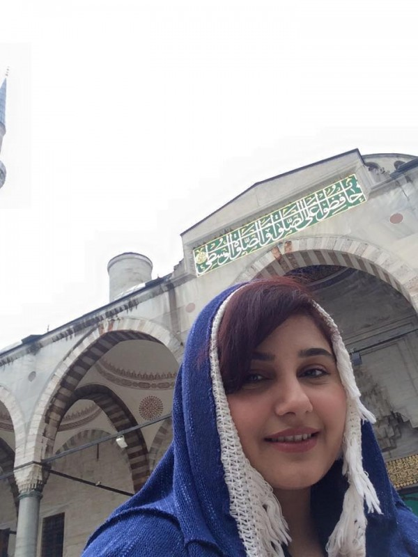 Pictures of Javeria Saud on Istanbul Tour (8)