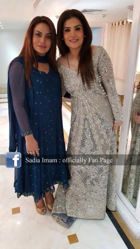 Sadia Imam is a new host of Samaa K  Mehman (4)