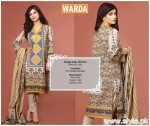 Warda Winter Dresses 2015 For Women 2