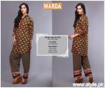 Warda Winter Dresses 2015 For Women 8