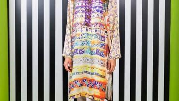 Zari Faisal Digital Silk Collection 2015 for Girls 3