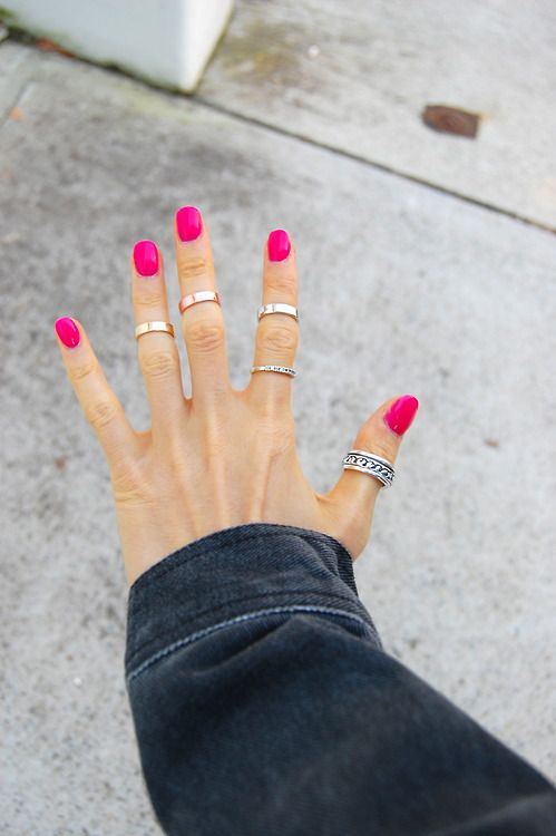 Artificial Cuff Rings For Girls 2016 Style Pk