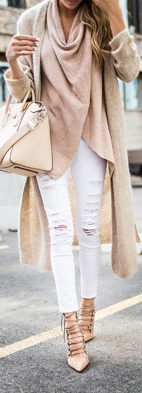 How to Manage White Dresses in Winter-skin