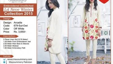 Mausummery Winter Dresses 2015 For Girls 9