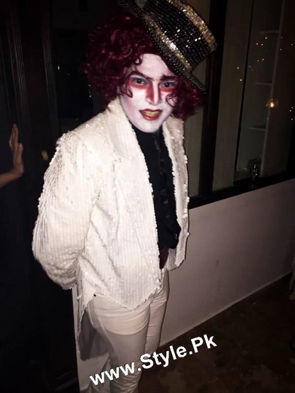 Pakistani Celebrities who looked ugly on Halloween Party 2015 (7)