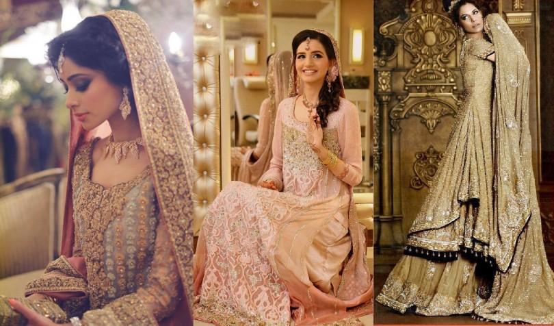 Simple Pakistani Walima dresses