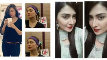 Photos Of Ayeza Khan After A Long Break From Showbiz