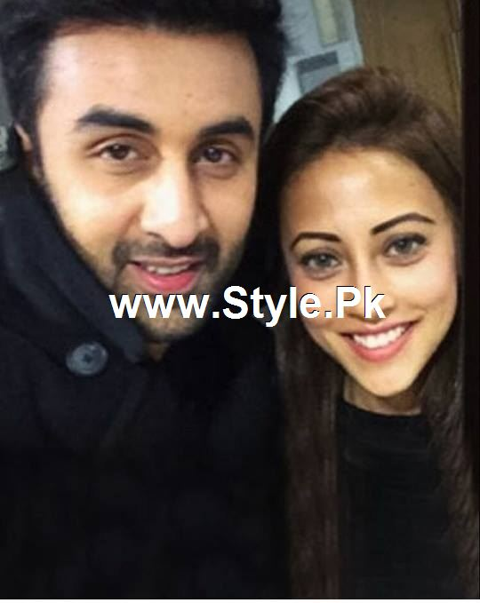 Pictures of Ainy Jaffry with Ranbir Kapoor (2)