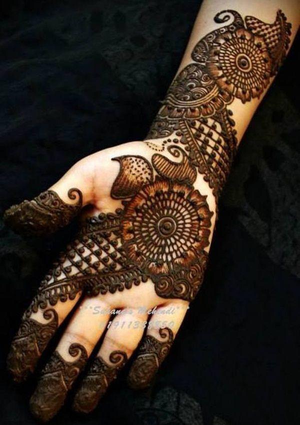 arabic mehndi designs 2016-classic