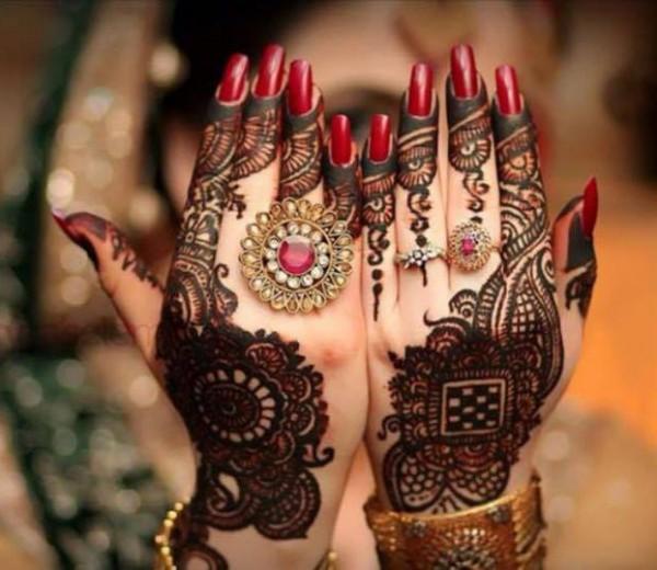 pakistani mehndi designs 2016- engagment