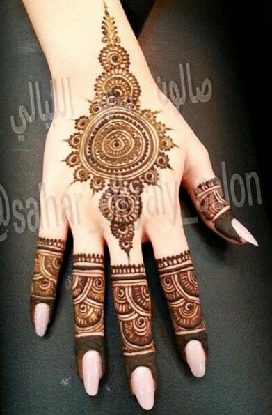 pakistani mehndi designs for girls