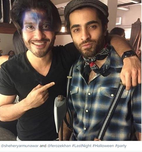 sheheryar munawar and feroze khan