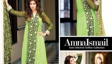 Amna Ismail Chiffon Collection 2016 For Women001