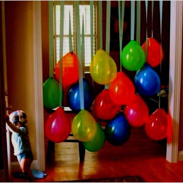 Birthday decoration ideas 2016 for Balloon and streamer decoration ideas