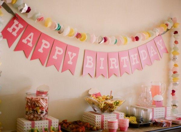 Идеи для украшения комнаты на день рождения своими руками