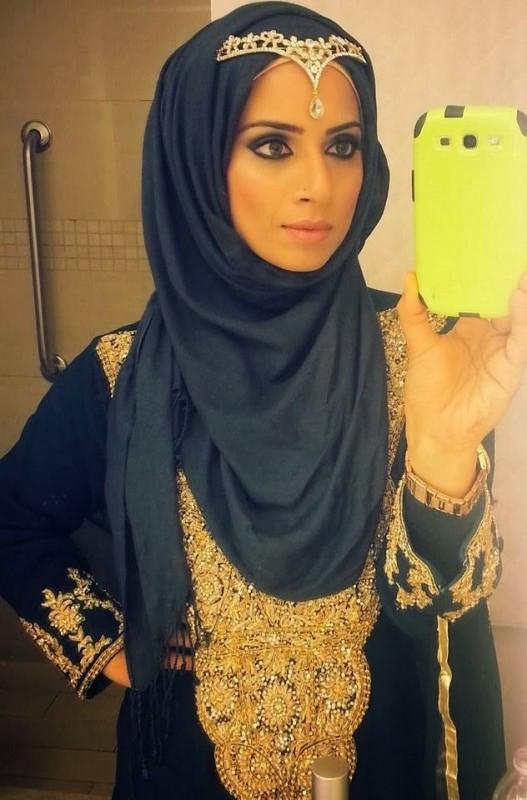 Formal Hijab Styles 2016-selfi