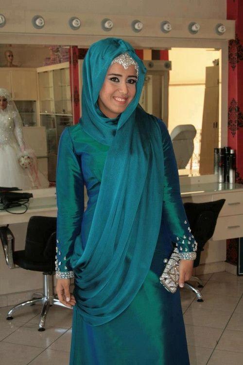 Formal Hijab Styles 2016- zinc