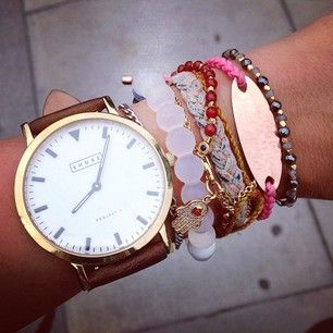 Latest Watches for Girls 2016- white dial