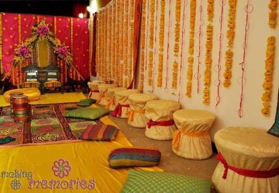 Mehndi Decoration Ideas 2016