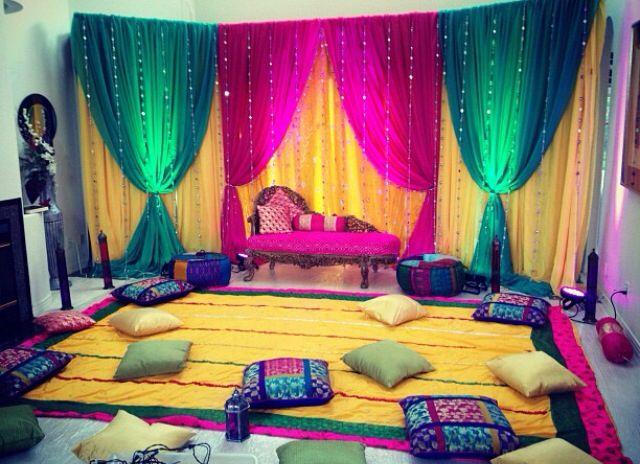 Mehndi Ceremony Sms : Mehndi decoration ideas