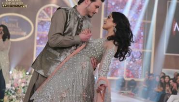 See The beautiful couple Maya Ali and Osman Khalid Butt romanced on ramp