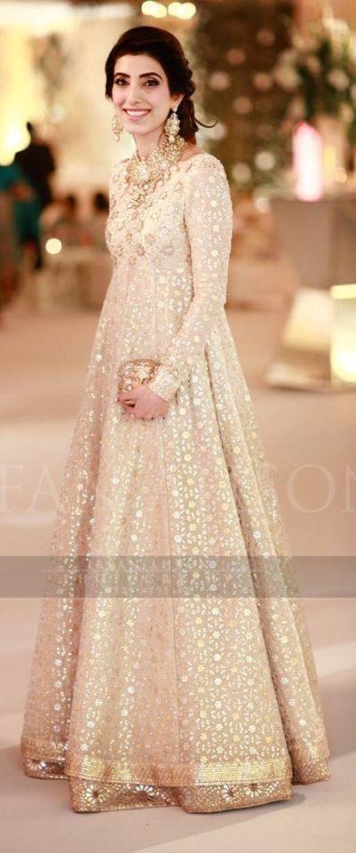 Pakistani Fancy Dresses 2016 For Girls Frock Style Pk