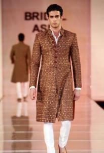 wedding sherwani Trend 2016- brown