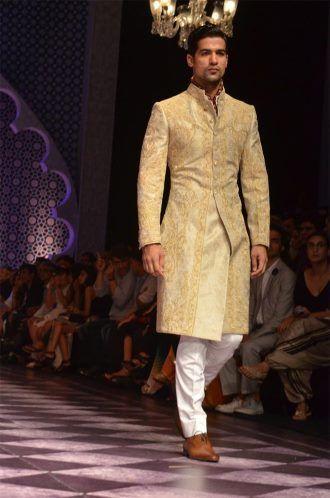 wedding sherwani Trend 2016- offwhite