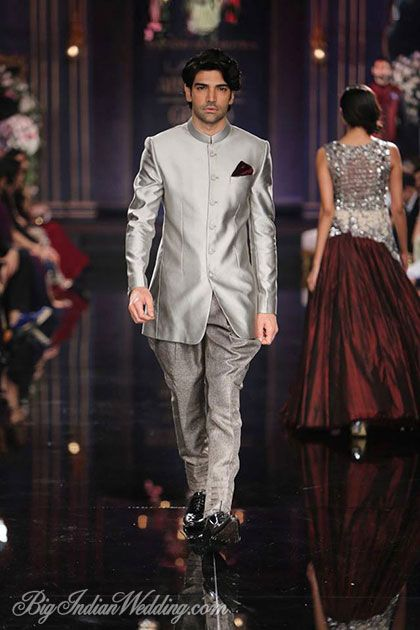 wedding sherwani Trend 2016- silver