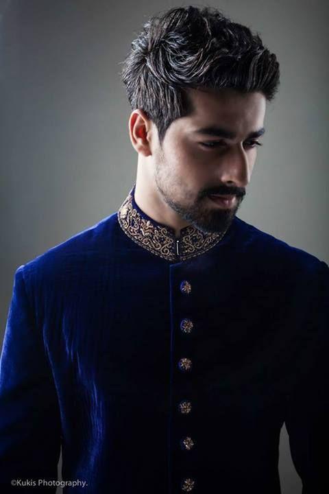wedding sherwani Trend 2016- velvet