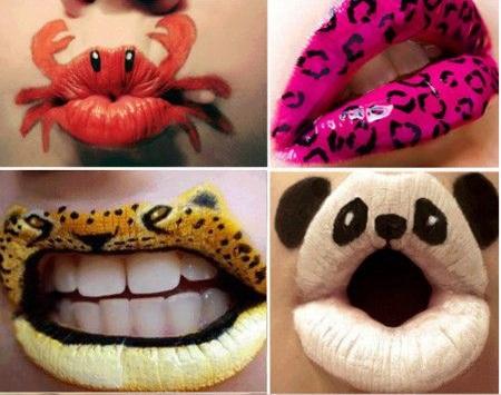 Crazy and Funny Lip Art Designs