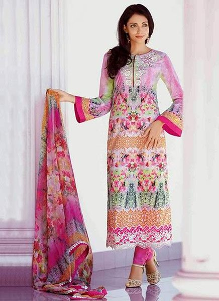 Popular Pakistani Eid Dresses 2018 For Girls - Best Festive Collection By Designers