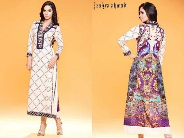 Latest pakistani casual dresses designs 2017 for girls