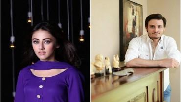 Osman Khalid Butt and Ainy Jaffri is a new couple for Balu Mahi