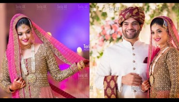See Top Best pictures from Sanam Jung's Wedding