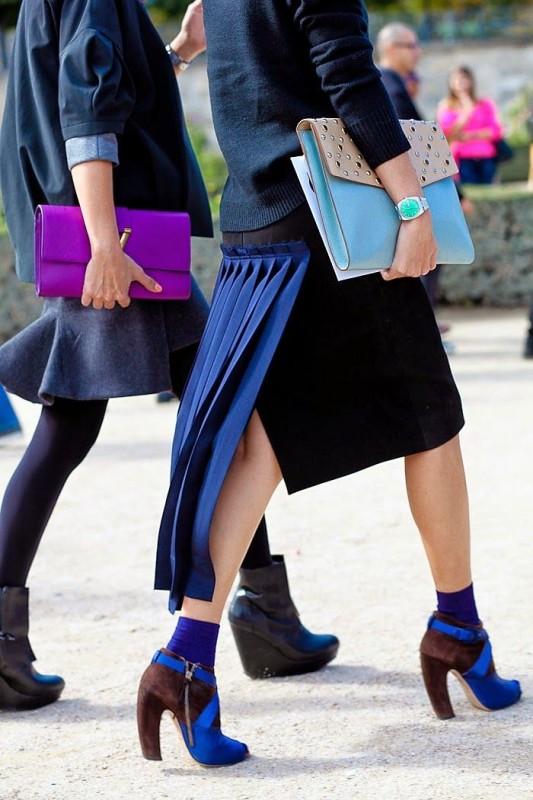Weird Fashion Trends 2016- black blue