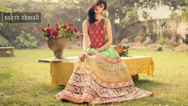 Zahra Ahmad Part Dresses 2016 For Girls and Women 7