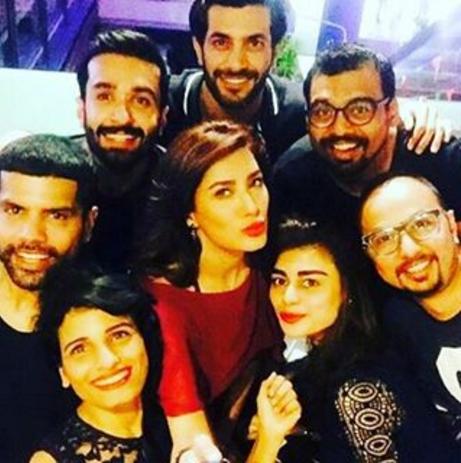 pakistani celebrities new year 2016