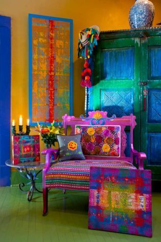 Add colors in your Living room.2