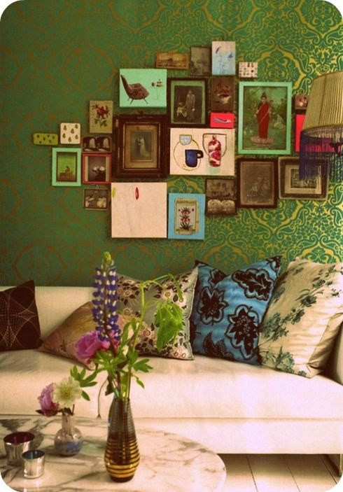 Add colors in your Living room.gallery